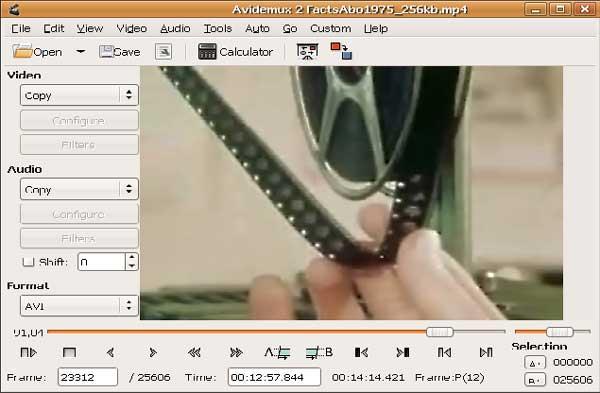 avidemux-free-linux-video-editor